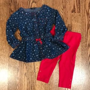 Tommy Hilfiger 12 Months Denim Tunic Outfit